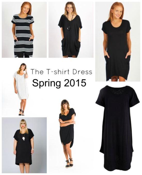 Spring 2015 Trend: The T-shirt Dress
