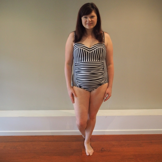 Liizze Parisian Stripe Swimsuit