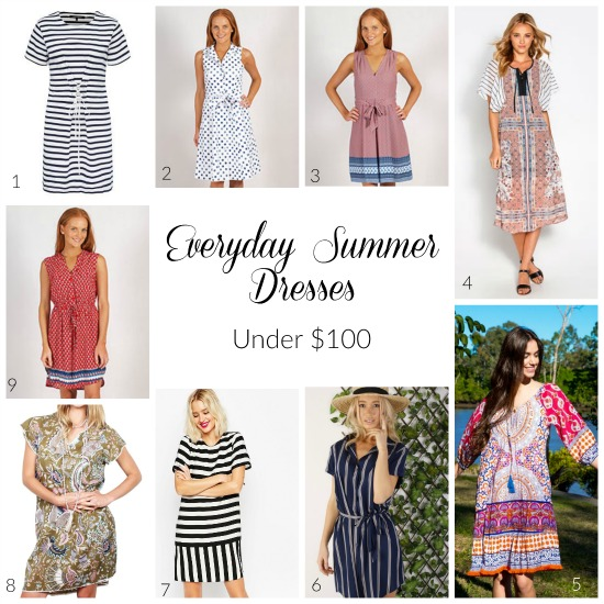 Everyday Summer Dresses Under $100 - Styled By BEC  Styled By BEC ...