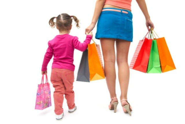 shopping with kids part II