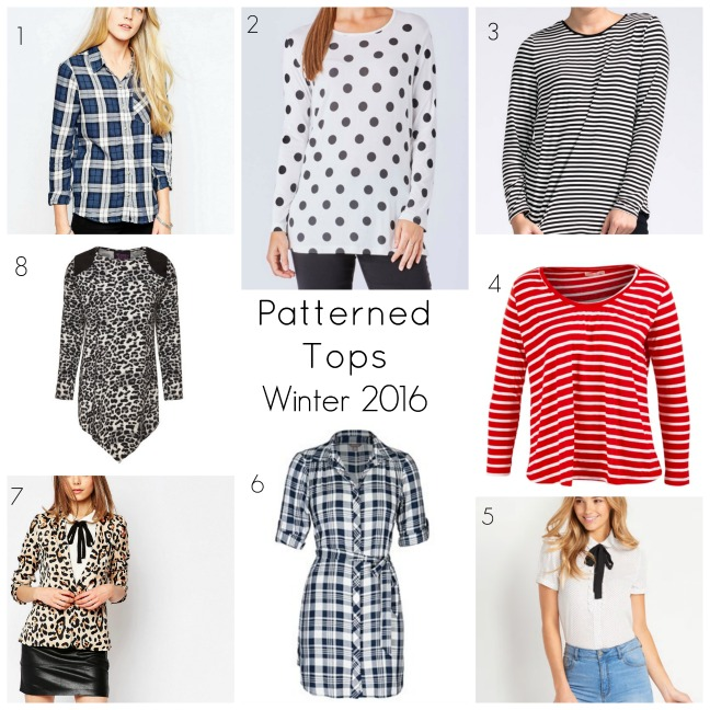 patterned tops 2016