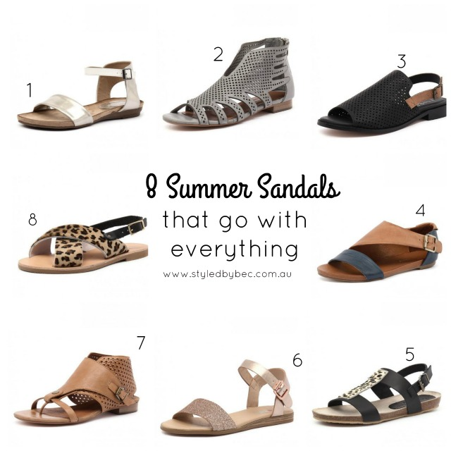 8 summer sandals that go with everything