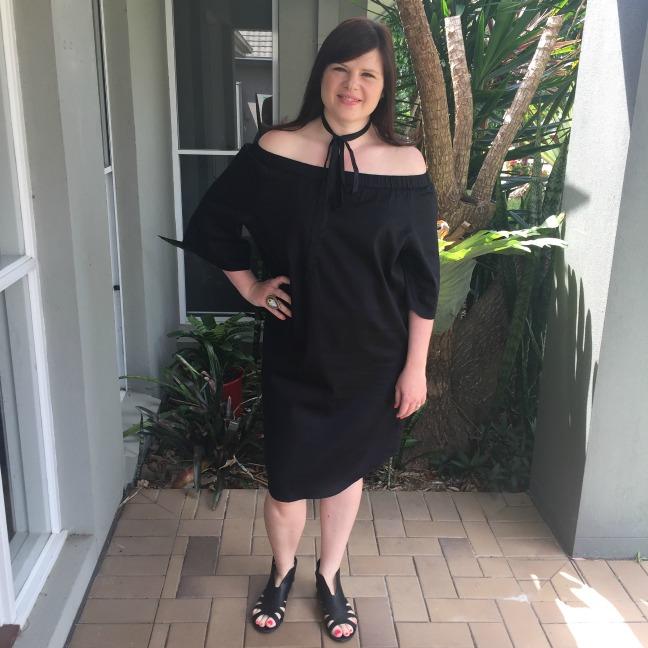 Adrift Black Belle Dress