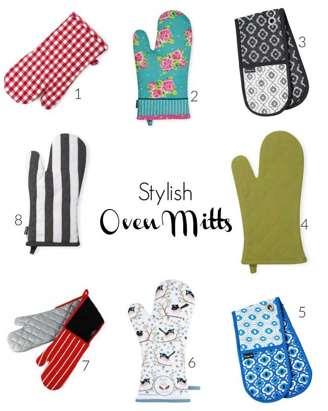 stylish oven mitts