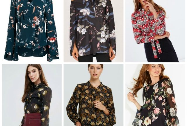 winter floral blouses for 2017, how to wear them