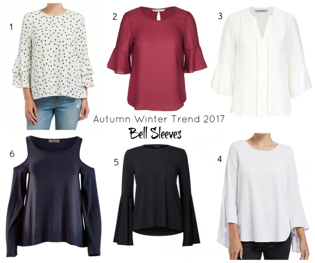 bell sleeve tops for winter 2017
