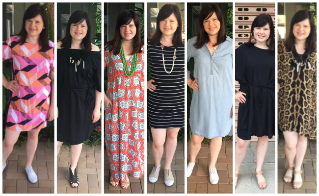 seven dresses on high rotation in my wardrobe