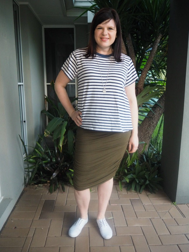 three ways to wear a tube skirt smart casual