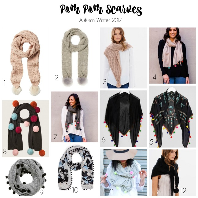 pom pom scarf for all occasions styled by bec