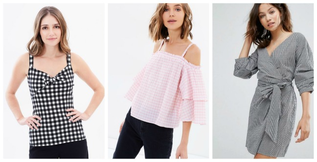 gingham Three Trends for Spring 2017