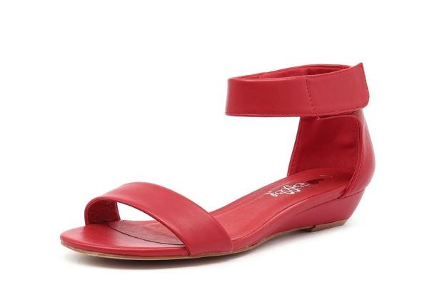 red marlena shoes