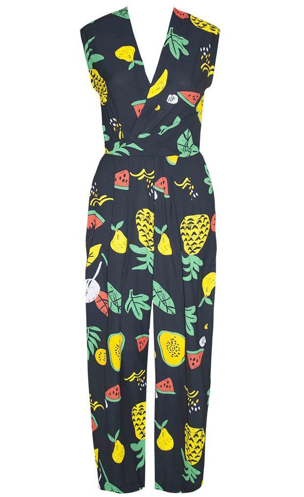 fruit salad pant suit