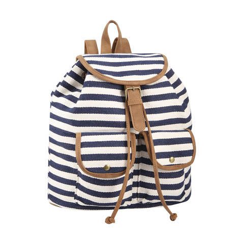 kmart stripe backpack