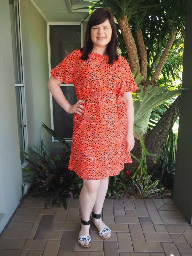 Little Party dress Megan Leopard Print dress $59.95
