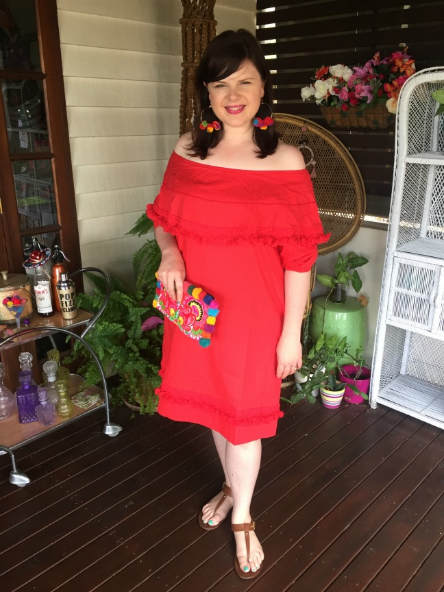 SFH Designs Red Dress