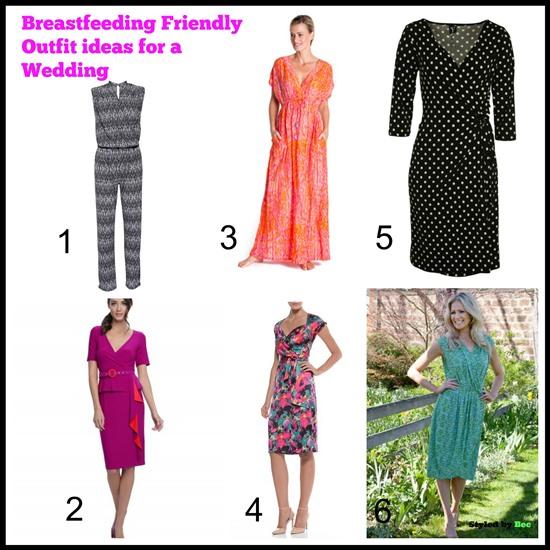 b9614b05e0f9f Breastfeeding Friendly Outfits for a Wedding - Styled By BEC